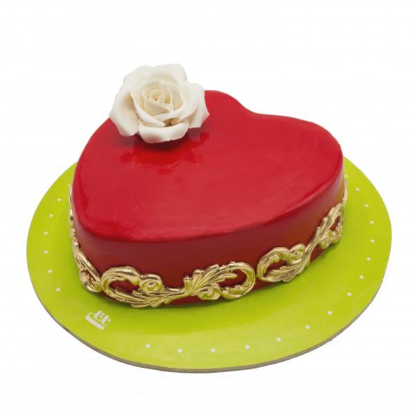کیک قلبم برای تو