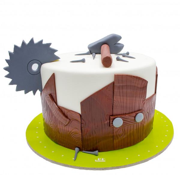 کیک شغل نجار