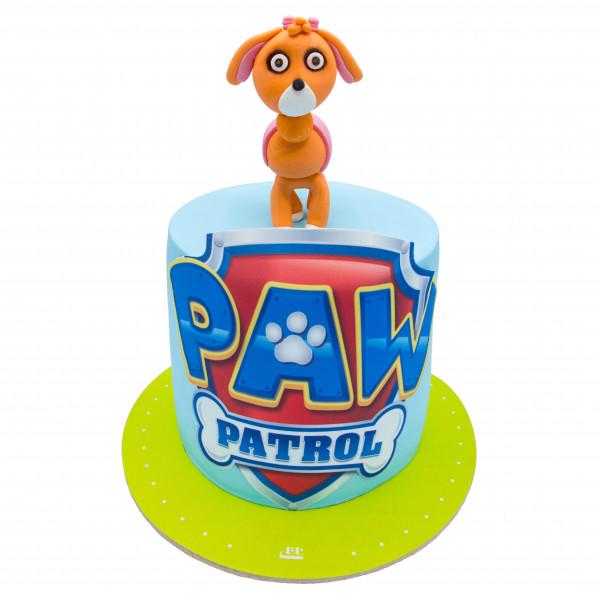 کیک سگ نگهبان کوچولو