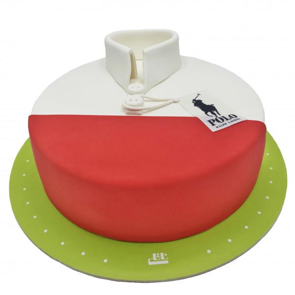 کیک تیشرت پولو