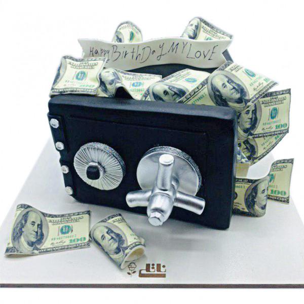 کیک گاو صندوق