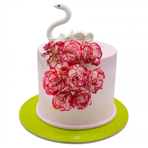 کیک قو