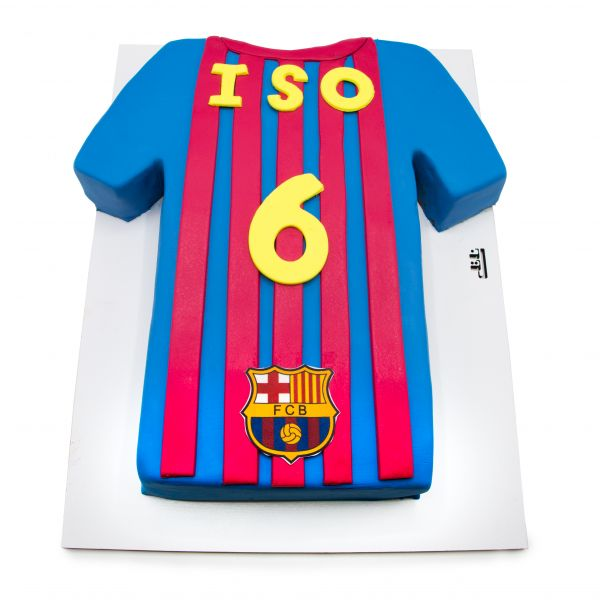 کیک تولد پسرانه بارسلونا 6