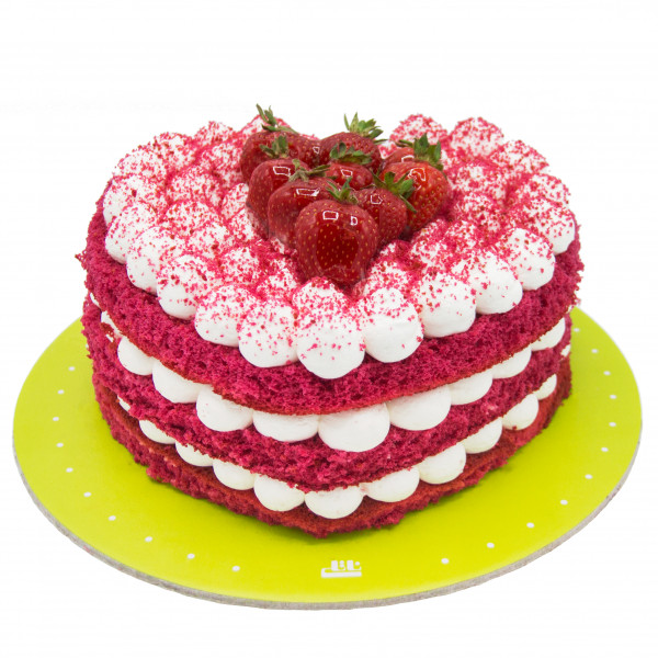 کیک قلب سابله