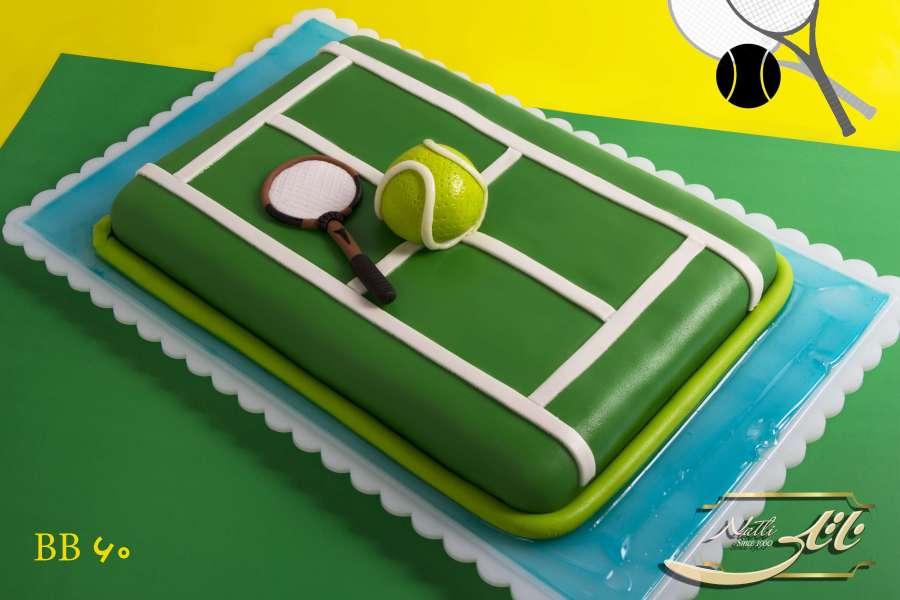 کیک تولد پسرانه تنیس