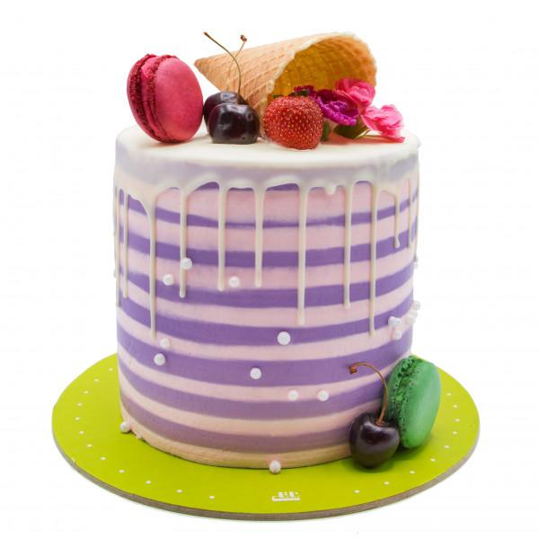 کیک خامه ای دلبر