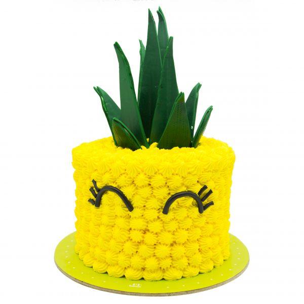 کیک آناناس خندون