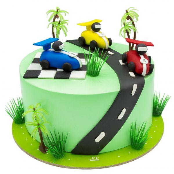 کیک ماشین مسابقه ای