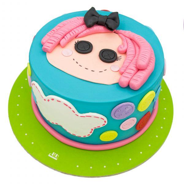 کیک تولد دخترانه لالالوپسی