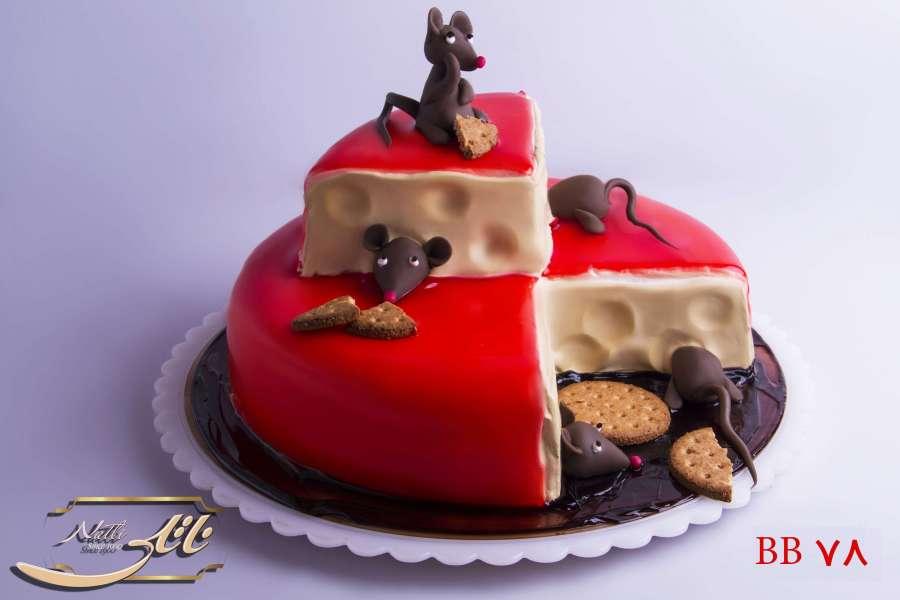 کیک تولد موش ها