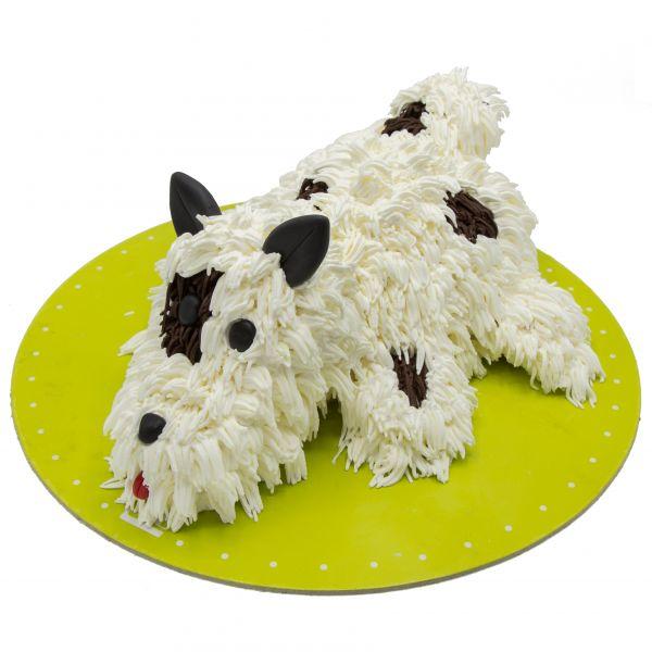 کیک تولد سگ پشمالو