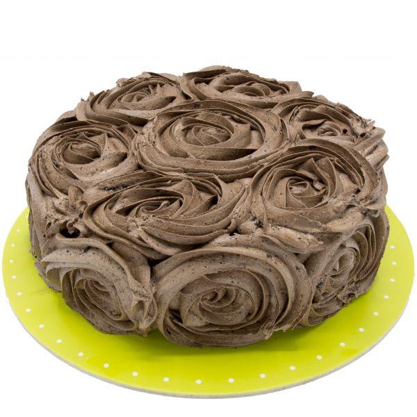 کیک رز شکلاتی