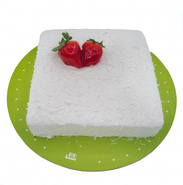 کیک وانیلی اسفنجی آشفته