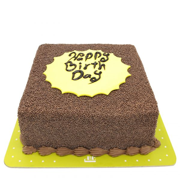 کیک فیگور خامه ای پودر شکلاتی