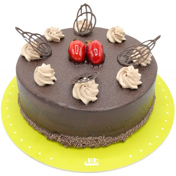 کیک خامه ای شکلاتی دلسا زیبا