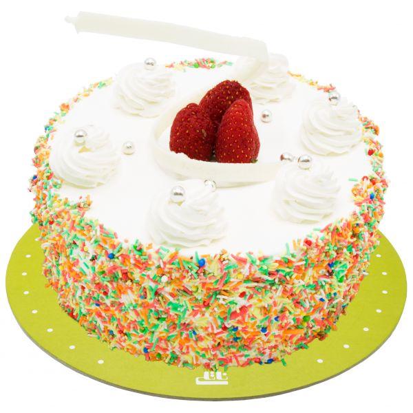 کیک خامه ای وانیلی دلسا ترافلی