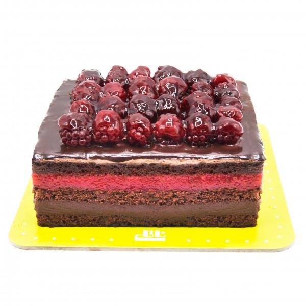 کیک راز بری و تمشک لاکچری