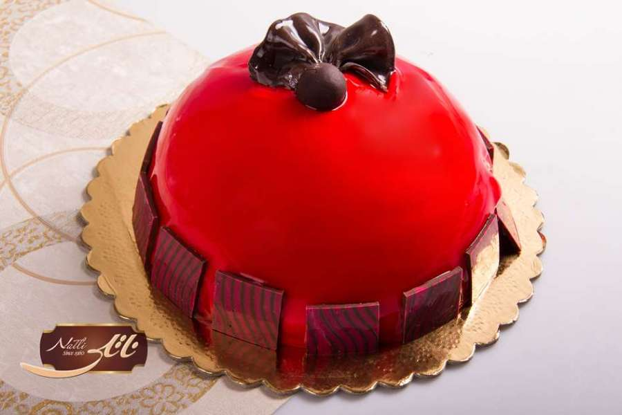 کیک ژله ای درسا