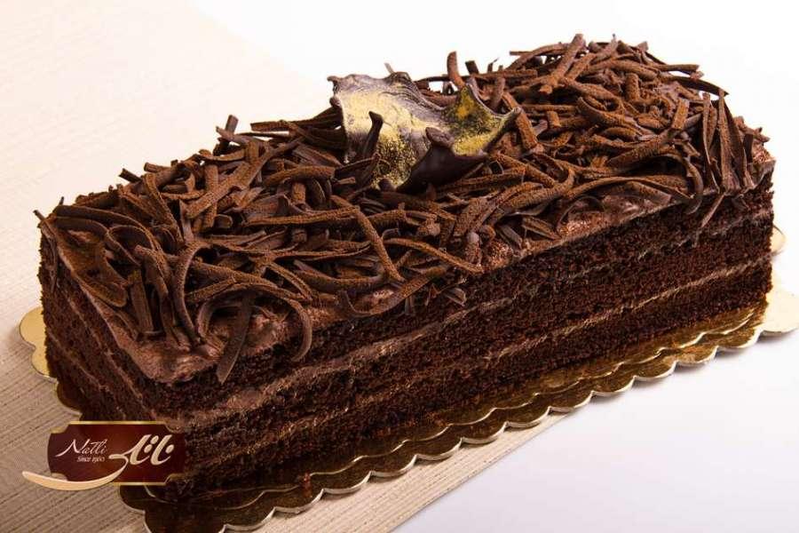 کیک فرنچ شکلات آشفته