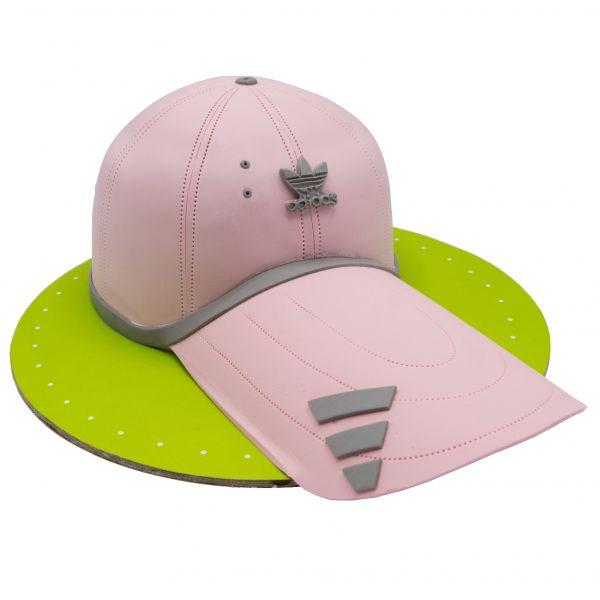 کیک کلاه ورزشی دخترانه آدیداس