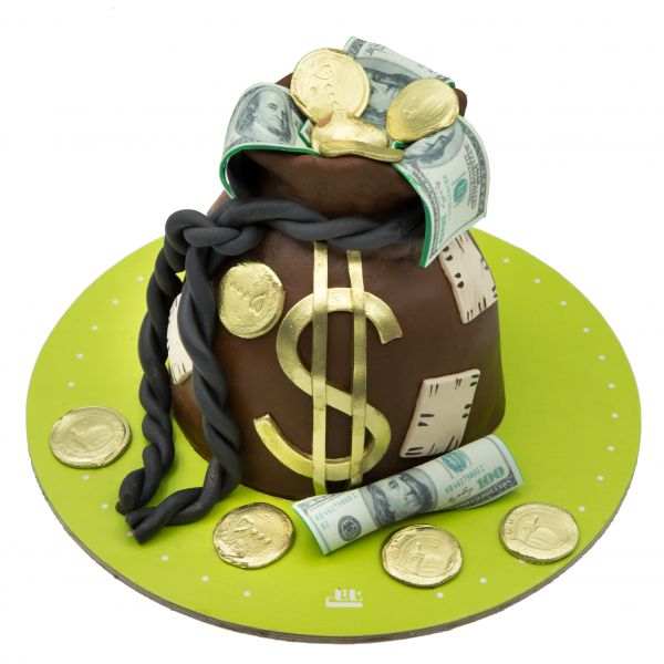 کیک دلار و سکه