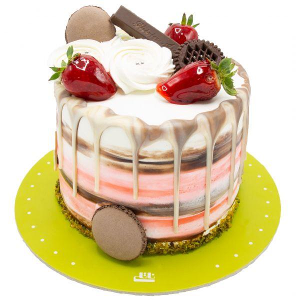 کیک آبشارخامه ای