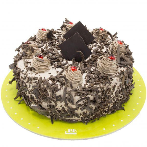 کیک شکلاتی آشفته خامه ای