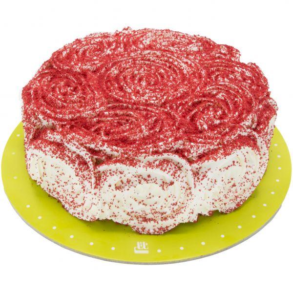 کیک ردولوت خامه ای