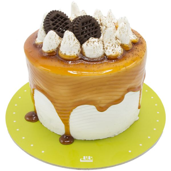 کیک جزیره خامه ای