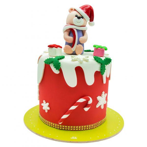 کیک خرس نوئل