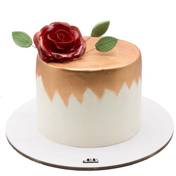 کیک گل سرخ