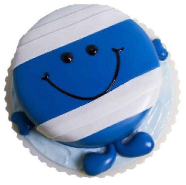 کیک تولد هپی فیس