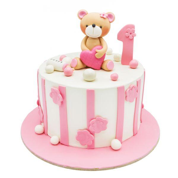 کیک خرسی 1ساله