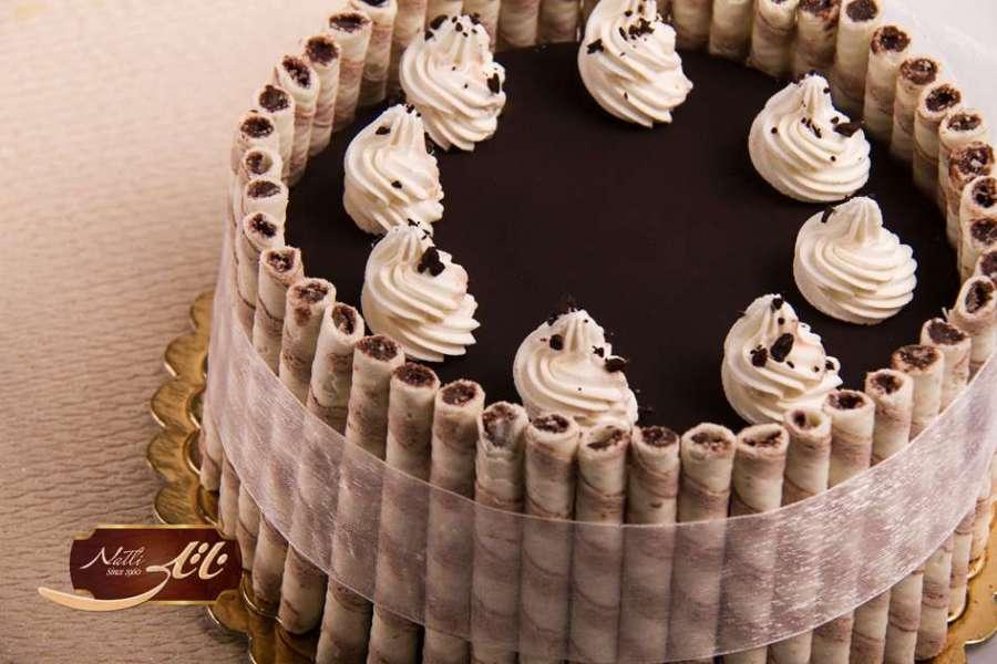 کیک بستنی شکلاتی 1