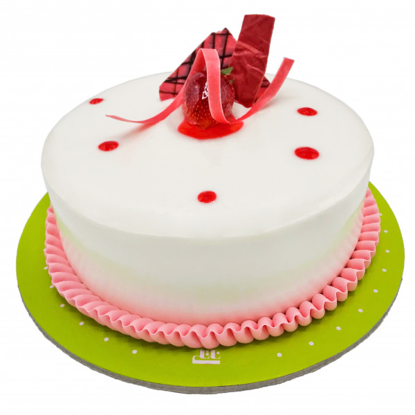 کیک ژله ای وانیلی 2