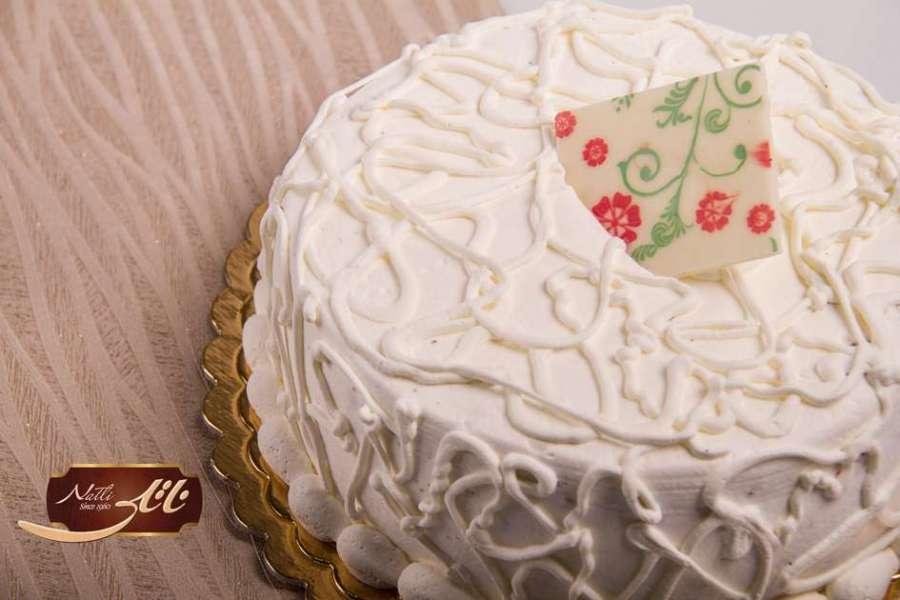 کیک بستنی وانیلی 4