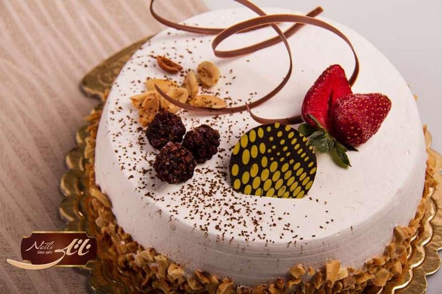 کیک بستنی وانیلی 3