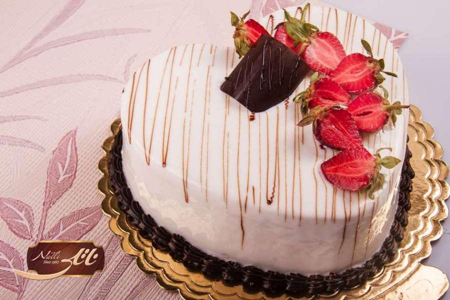 کیک بستنی موکا