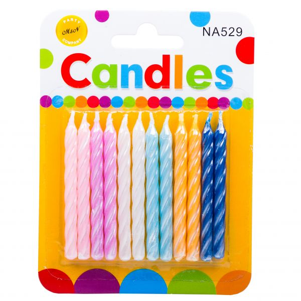 شمع رنگی قلمی کَندلس