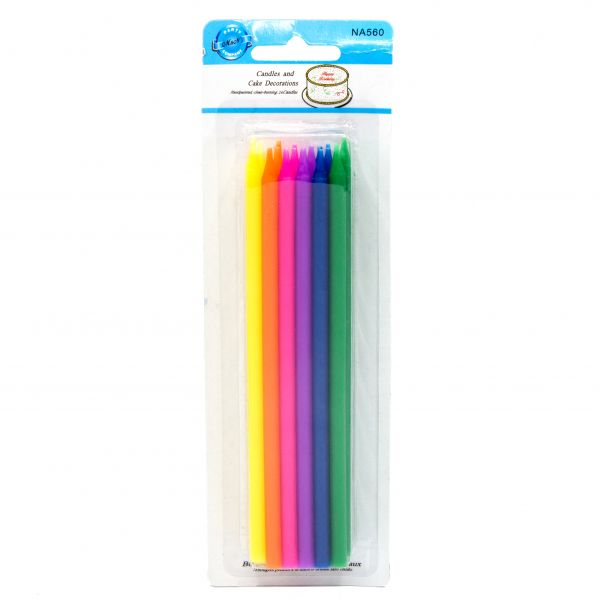 شمع مدادی رنگارنگ