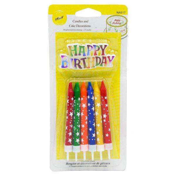 شمع مدادی ستاره