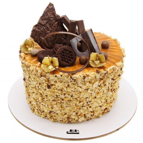 کیک بادام کاراملی