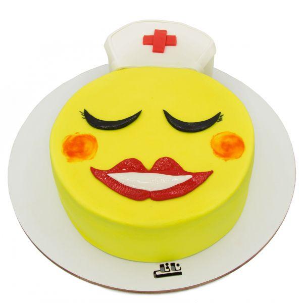 کیک ایموجی پرستار