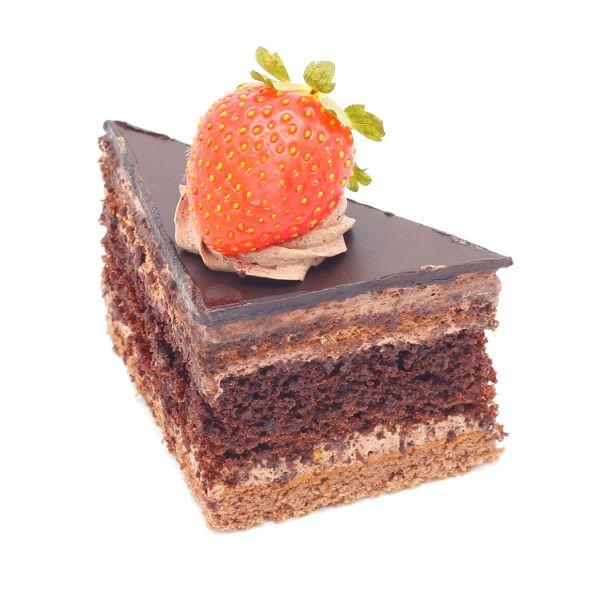 شیرینی شکلاتی مثلثی