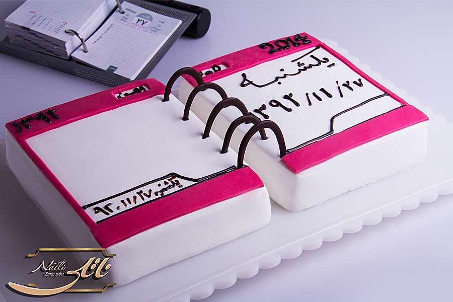 کیک فانتزی تولد  تقویم
