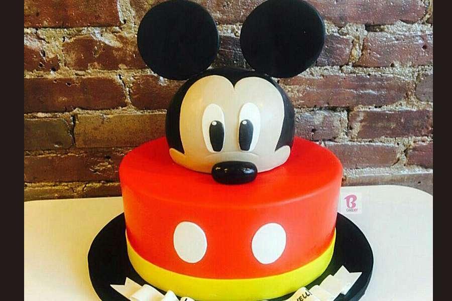 کیک تولد میکی موس 5