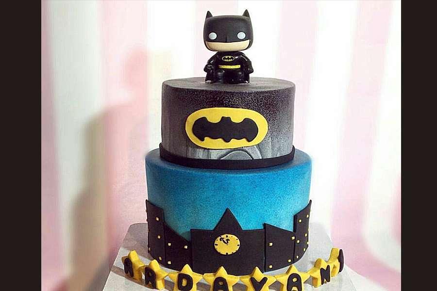 کیک تولد پسرانه بتمن 2