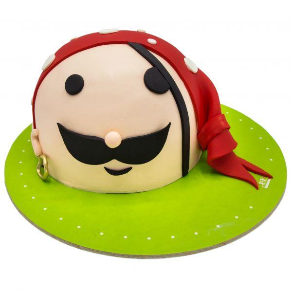 کیک تولد پسرانه دزد دریایی