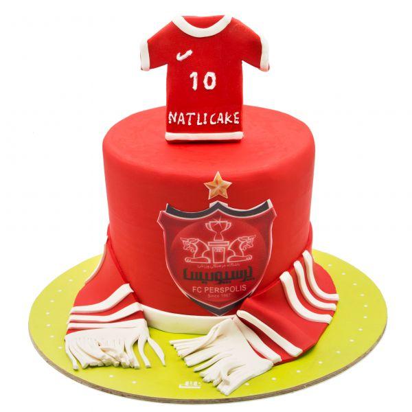 کیک تولد پسرانه پرسپولیس 1