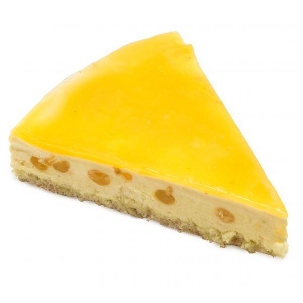 چیز کیک پرتقال و انبه